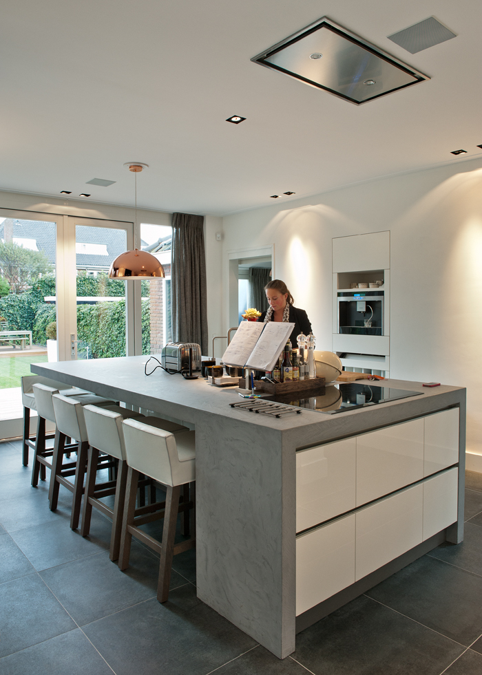 Badkamer Boven Keuken ~ Keuken  Stucdesigners